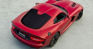 2019 Dodge Viper air view