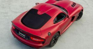 2019 Dodge Viper air view