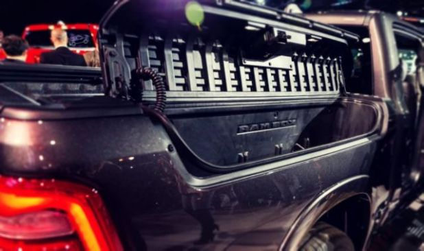 2019 Ram 1500 Hybrid side