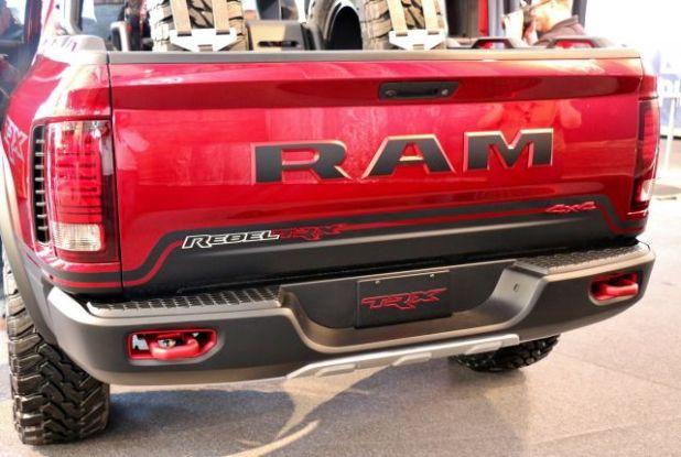 2019 Ram Rebel TRX rear