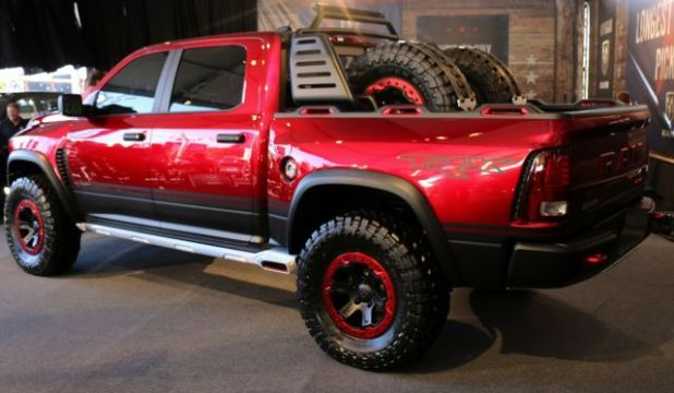 2019 ram rebel trx is an answer to the ford f-150 raptor
