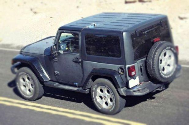 2020 Jeep Wrangler rear