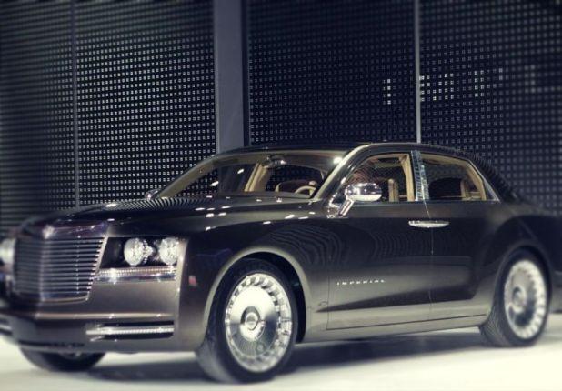 2019 Chrysler Imperial front