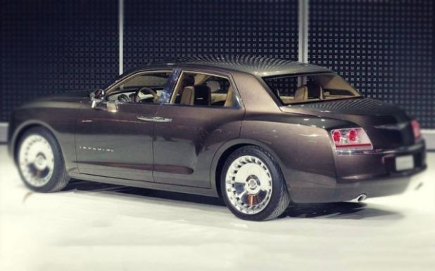 2019 Chrysler Imperial rear