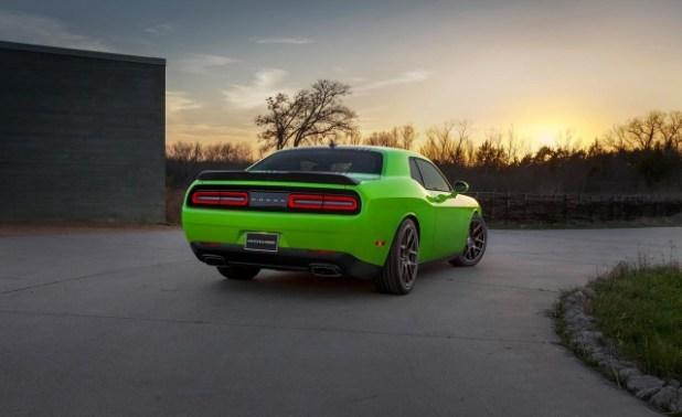 2020 Dodge Challenger rear