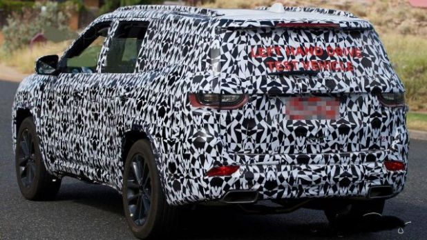 2020 Jeep Grand Wagoneer Trackhawk rear