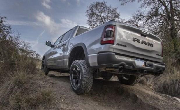 2019 Ram 1500 Rebel rear