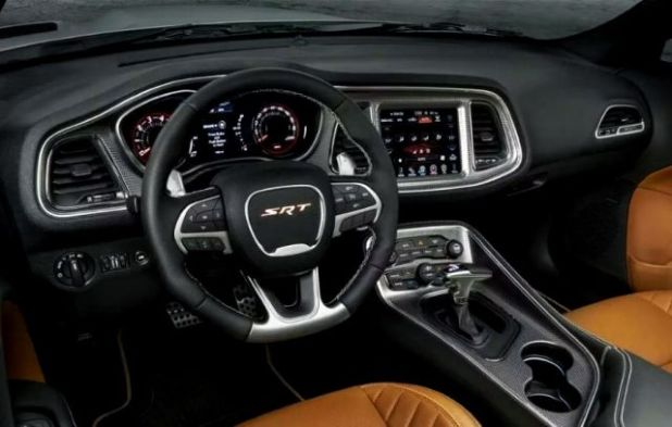 2020 Dodge Challenger interior