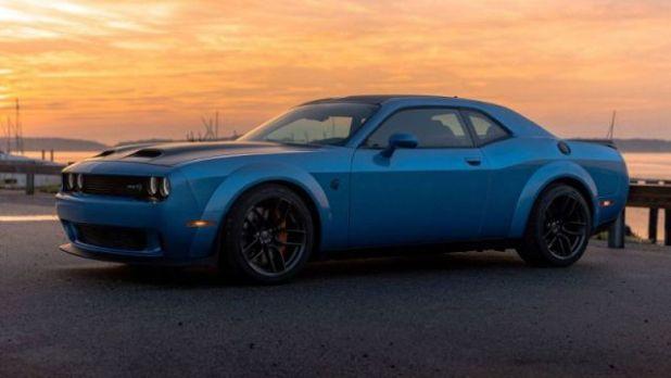2020 Dodge Challenger side