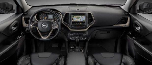 2020 Jeep Cherokee interior