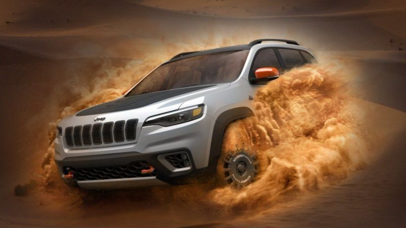 2020 Jeep Grand Cherokee Deserthawk Off-Road Package