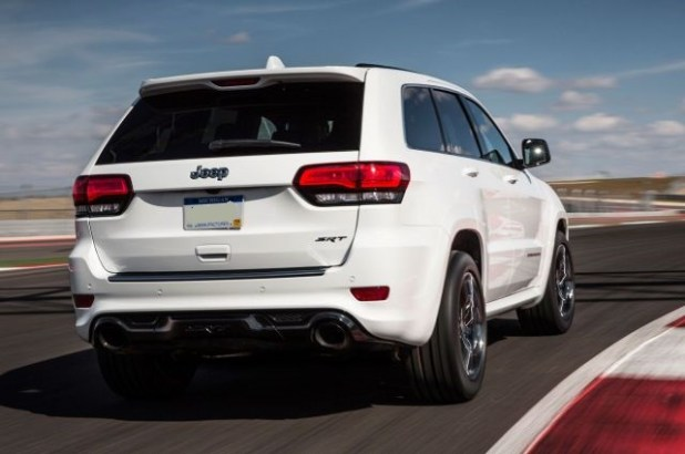 2020 Jeep Grand Cherokee SRT8 Hellcat rear view