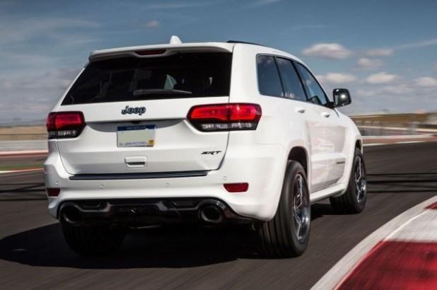 2020 Jeep Grand Cherokee SRT8 Hellcat rear view