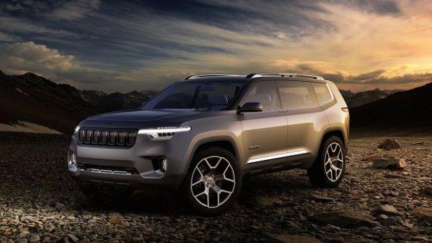 2020 Jeep Grand Wagoneer side