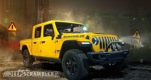 2020 Jeep Scrambler front