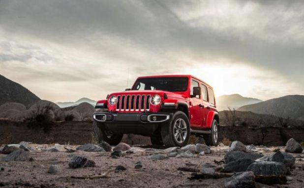 2020 Jeep Wrangler PHEV front