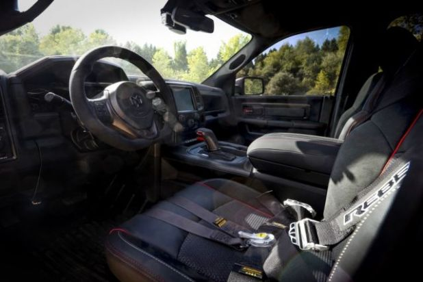 2020 Ram Rebel TRX interior