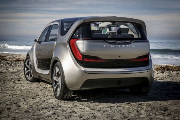 2020 Chrysler Portal rear