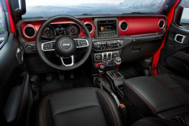 2020 Jeep Wrangler Diesel interior