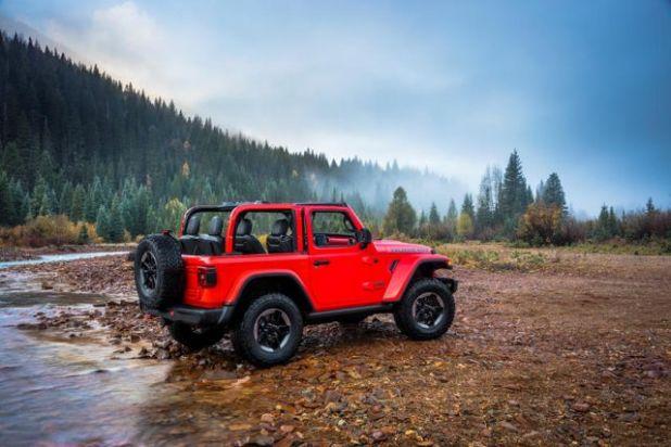2020 Jeep Wrangler Diesel rear