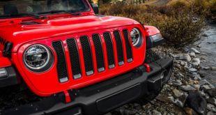 2020 Jeep Wrangler Hybrid front