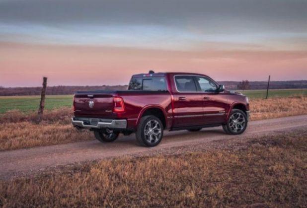 2020 Ram 1500 rear