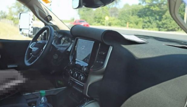 2020 Ram HD interior