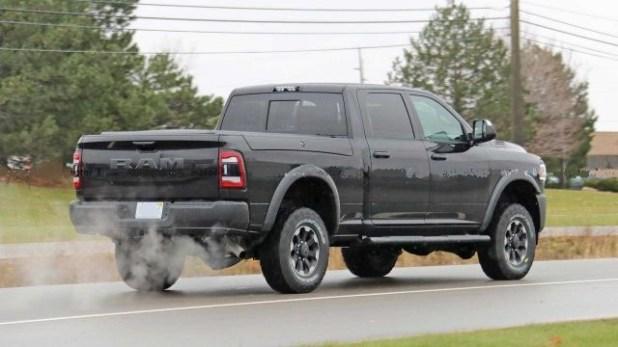 2020 Ram Power Wagon rear