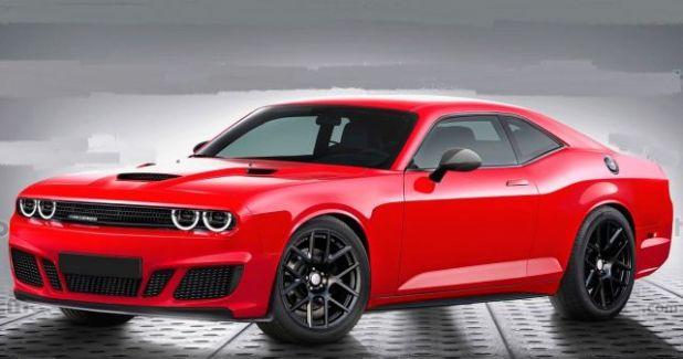 2021 Dodge Challenger front