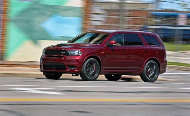 2021 Dodge Durango side