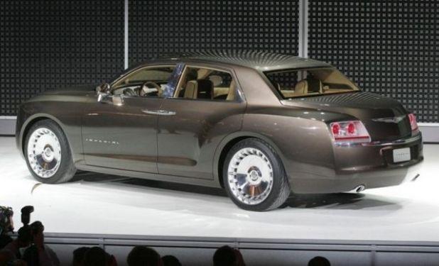 2020 Chrysler Imperial rear