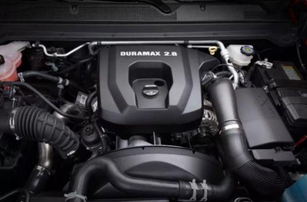 2020 Dodge Dakota engine