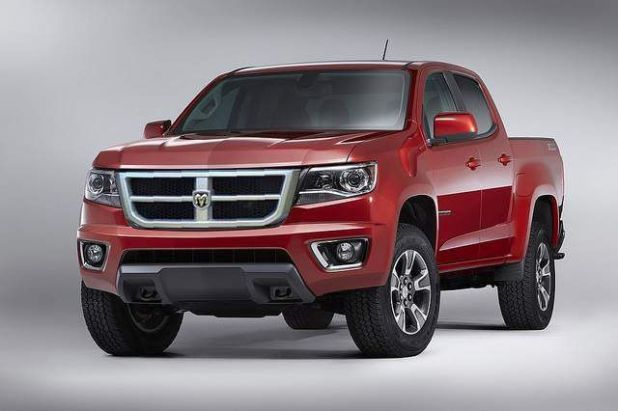 2020 Dodge Dakota front