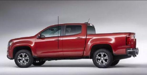 2020 Dodge Dakota side