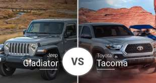 2020 Jeep Gladiator VS. 2019 Toyota Tacoma