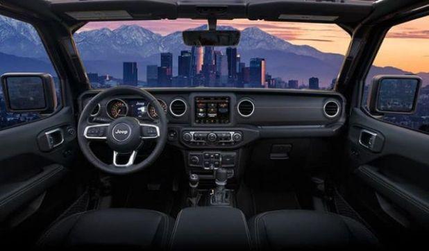 2020 Jeep Gladiator interior