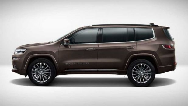 2020 Jeep Grand Commander side