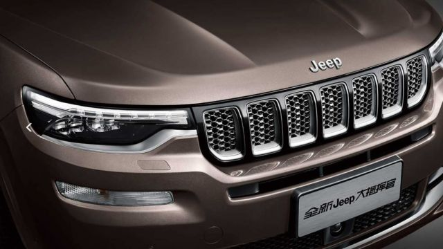2020 Jeep Grand Commander to Be Chrysler-Badged