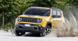 2020 Jeep Renegade Hybrid Front