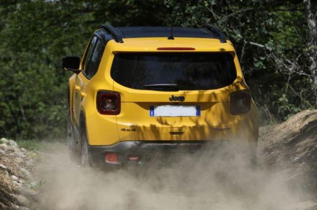 2020 Jeep Renegade Hybrid rear