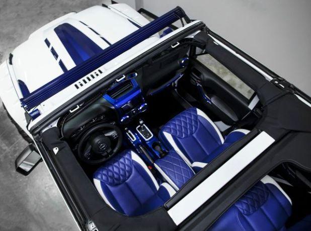2020 Jeep Wrangler Stormtrooper interior