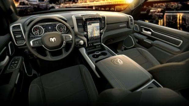 2020 RAM 1500 eTorque interior