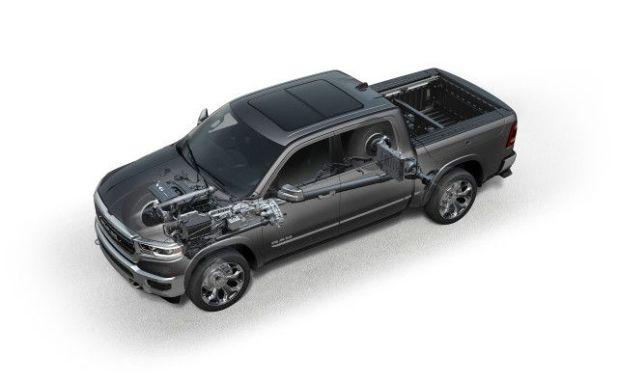 2020 Ram 1500 Hybrid engine