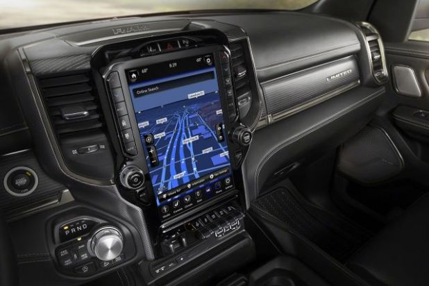2020 Ram 1500 Hybrid interior
