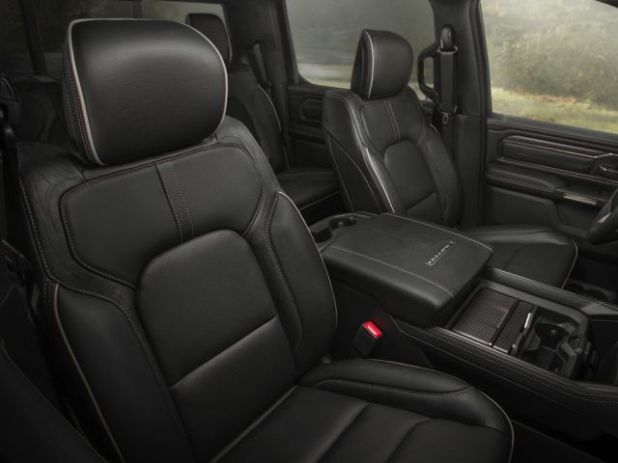 2020 Ram 1500 SRT Hellcat seats