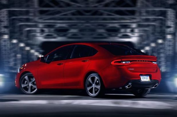 2020 Dodge Dart rear