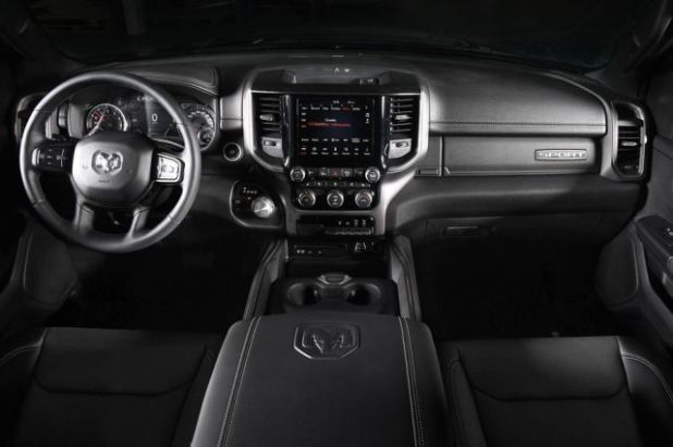 Ram 1500 Bigfoot Edition interior
