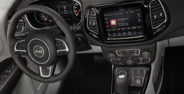 2020 Jeep Compass PHEV interior