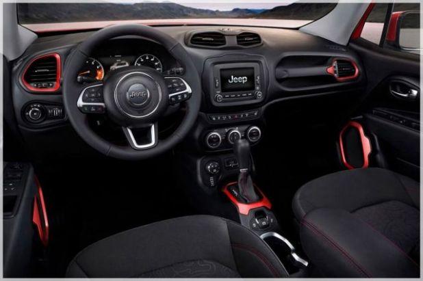 2020 Jeep Renegade Trailhawk interior