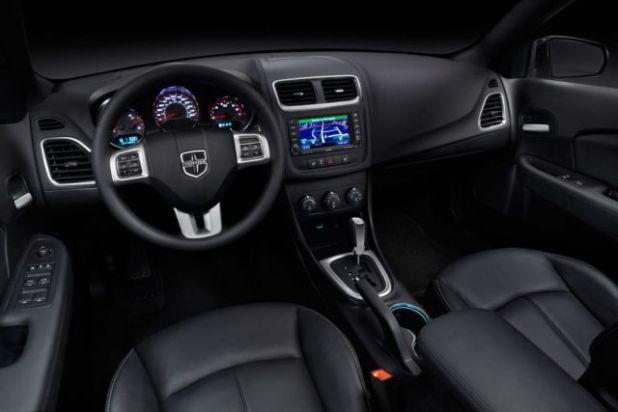 2020 Dodge Avenger interior design